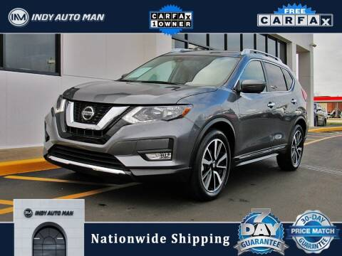 2019 Nissan Rogue for sale at INDY AUTO MAN in Indianapolis IN