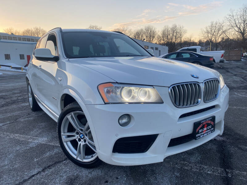 2014 BMW X3 for sale at JerseyMotorsInc.com in Teterboro NJ