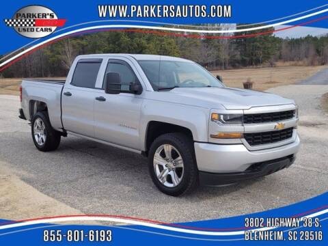 2018 Chevrolet Silverado 1500 for sale at Parker's Used Cars in Blenheim SC