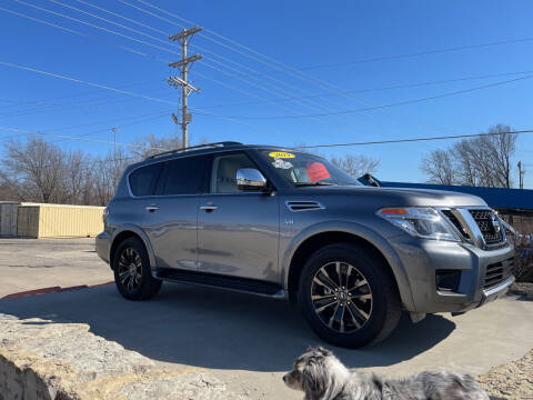 2019 Nissan Armada for sale at Foust Fleet Leasing in Topeka KS