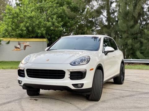 2016 Porsche Cayenne for sale at Exclusive Impex Inc in Davie FL