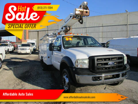 2006 Ford F-450 Super Duty for sale at Affordable Auto Sales in Olathe KS