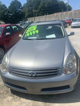 2005 Infiniti G35 for sale at J D USED AUTO SALES INC in Doraville GA