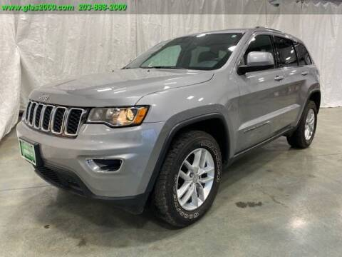 2017 Jeep Grand Cherokee for sale at Green Light Auto Sales LLC in Bethany CT