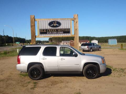 2014 GMC Yukon for sale at Elk Creek Motors LLC in Park Rapids MN