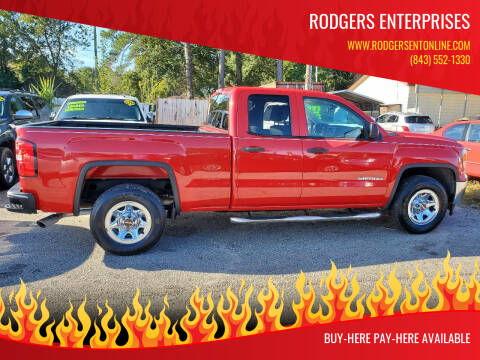 2014 GMC Sierra 1500 for sale at Rodgers Enterprises in North Charleston SC