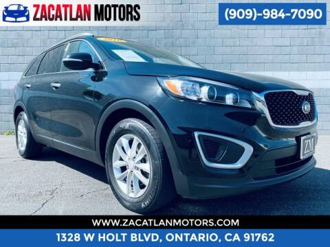2016 Kia Sorento for sale at Ontario Auto Square in Ontario CA