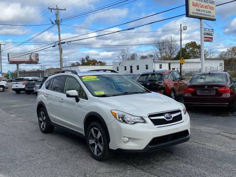 2015 Subaru XV Crosstrek for sale at MetroWest Auto Sales in Worcester MA