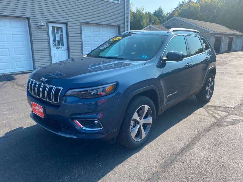 2020 Jeep Cherokee for sale at Glen's Auto Sales in Fremont NH