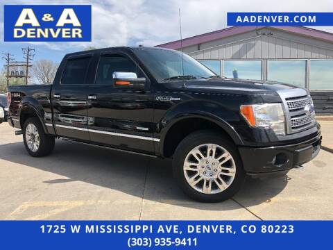 2011 Ford F-150 for sale at A & A AUTO LLC in Denver CO