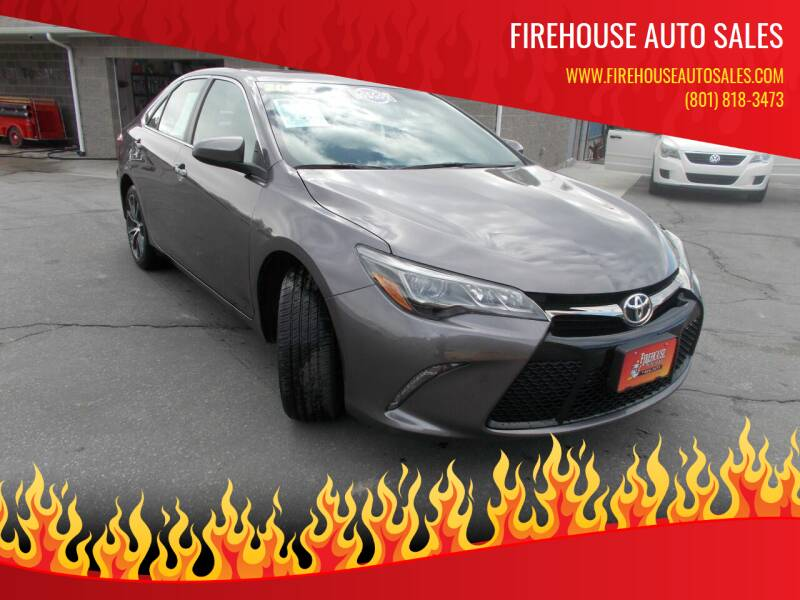 2016 Toyota Camry for sale at Firehouse Auto Sales in Springville UT