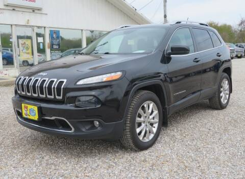 2014 Jeep Cherokee for sale at Low Cost Cars in Circleville OH