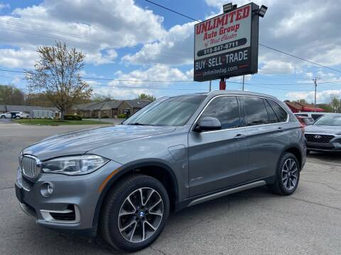 2018 BMW X5 for sale at Unlimited Auto Group in West Chester OH