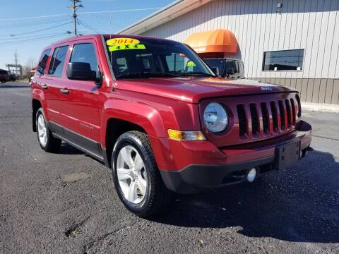 2014 Jeep Patriot for sale at Moores Auto Sales in Greeneville TN