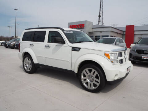 2011 Dodge Nitro for sale at SIMOTES MOTORS in Minooka IL