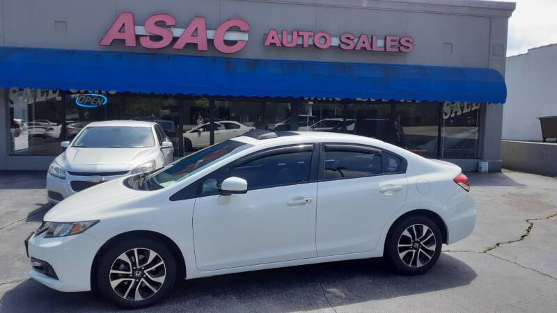 2015 Honda Civic for sale at ASAC Auto Sales in Clarksville TN