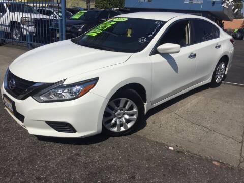 2018 Nissan Altima for sale at 2955 FIRESTONE BLVD in South Gate CA