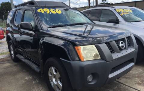 2008 Nissan Xterra for sale at Bobby Lafleur Auto Sales in Lake Charles LA