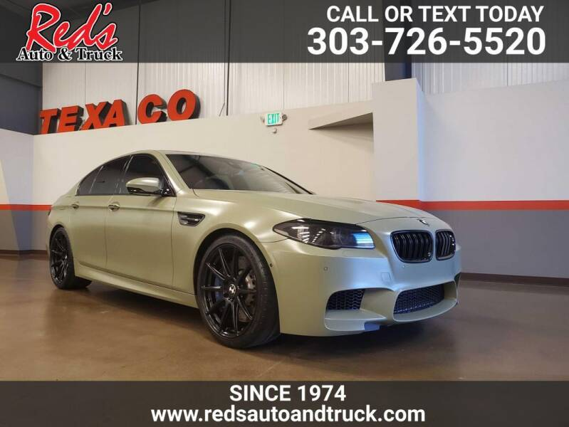 2014 BMW M5 for sale at Red's Auto and Truck in Longmont CO