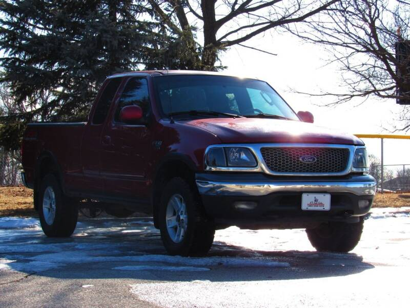 2002 Ford F-150 for sale at NY AUTO SALES in Omaha NE
