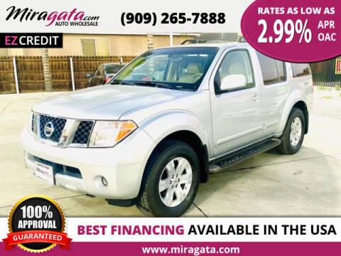 2005 Nissan Pathfinder for sale at Miragata Auto in Bloomington CA