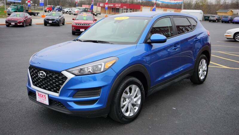 2019 Hyundai Tucson for sale at Ricks Auto Sales, Inc. in Kenton OH