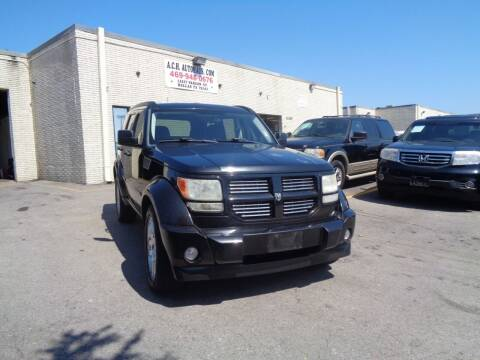 2010 Dodge Nitro for sale at ACH AutoHaus in Dallas TX