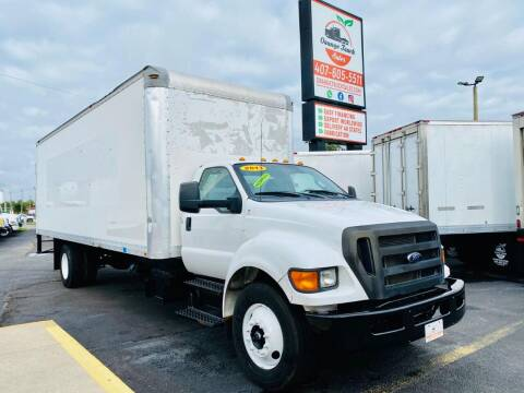 2013 Ford F-750 Super Duty for sale at Orange Truck Sales in Orlando FL