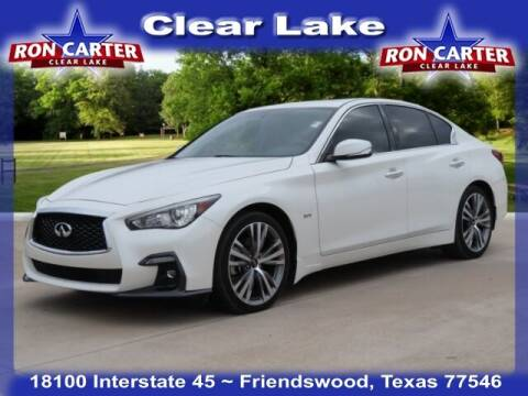 2018 Infiniti Q50 for sale at Ron Carter  Clear Lake Used Cars in Houston TX