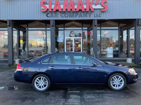2008 Chevrolet Impala for sale at Siamak's Car Company llc in Salem OR