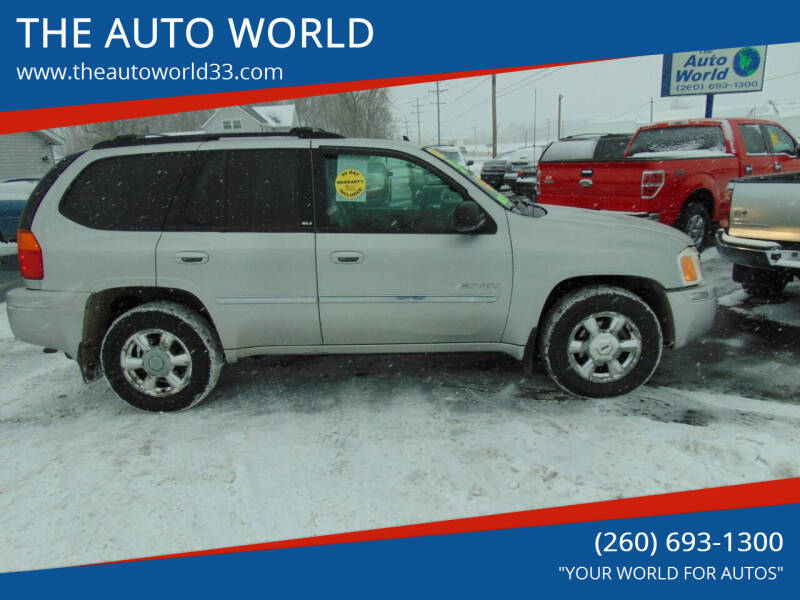 2006 GMC Envoy for sale at THE AUTO WORLD in Churubusco IN
