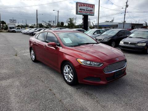 2013 Ford Fusion for sale at Jamrock Auto Sales of Panama City in Panama City FL
