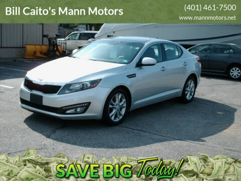 2012 Kia Optima for sale at Bill Caito's Mann Motors in Warwick RI