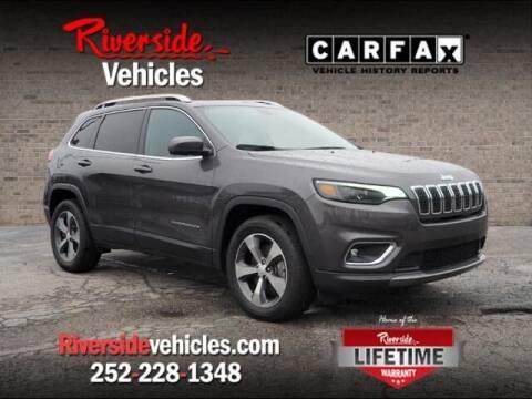 2019 Jeep Cherokee for sale at Riverside Mitsubishi(New Bern Auto Mart) in New Bern NC