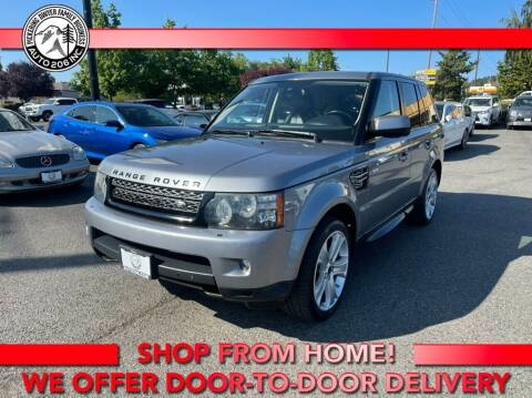 2012 Land Rover Range Rover Sport for sale at Auto 206, Inc. in Kent WA