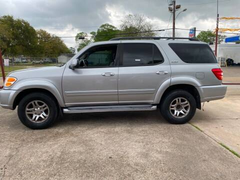 2004 Toyota Sequoia for sale at Bobby Lafleur Auto Sales in Lake Charles LA