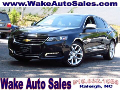 2016 Chevrolet Impala for sale at Wake Auto Sales Inc in Raleigh NC
