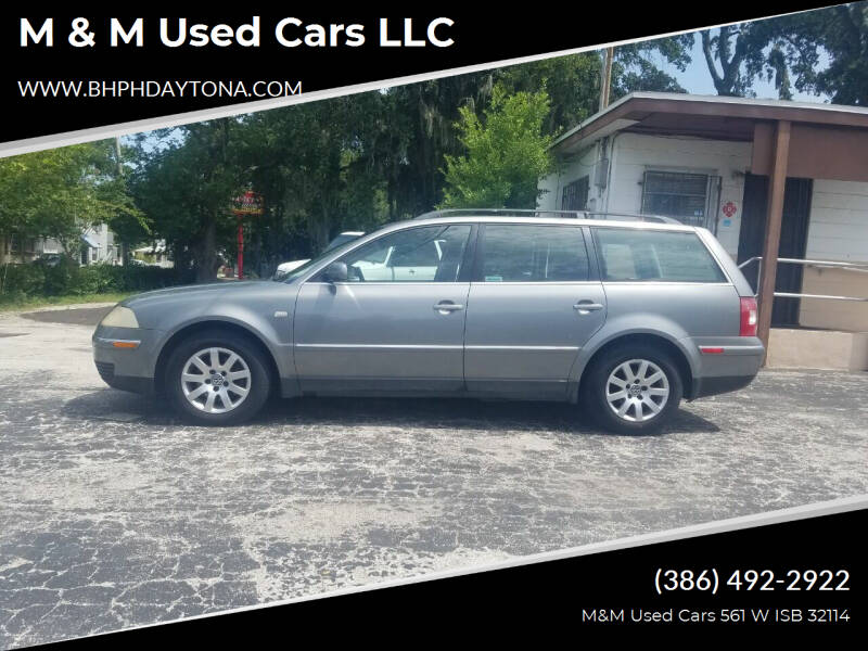 2003 Volkswagen Passat for sale at M & M Used Cars LLC in Daytona Beach FL