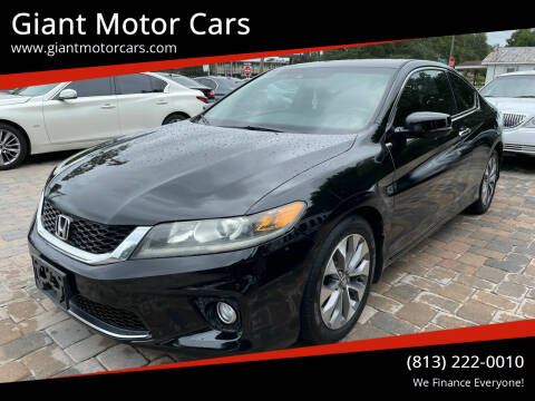 2014 Honda Accord for sale at Giant Motor Cars in Tampa FL