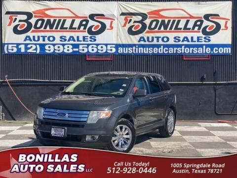 2007 Ford Edge for sale at Bonillas Auto Sales in Austin TX