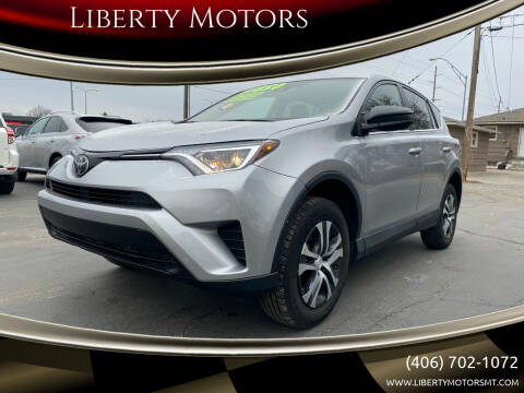 2018 Toyota RAV4 for sale at Liberty Motors in Billings MT