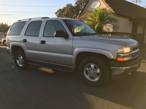 2004 Chevrolet Tahoe for sale at Three Bridges Auto Sales in Fair Oaks CA