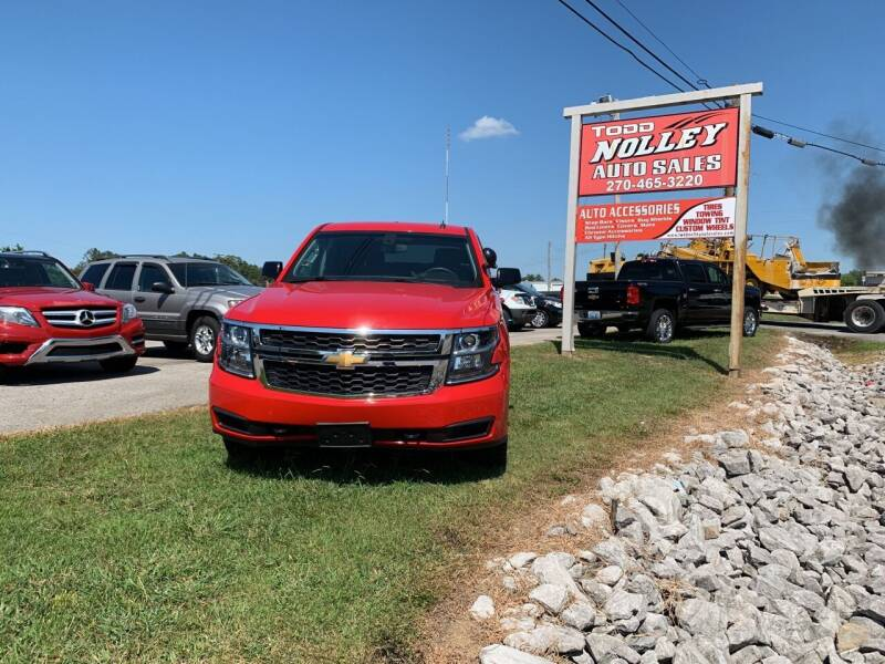 2015 Chevrolet Tahoe for sale at Todd Nolley Auto Sales in Campbellsville KY
