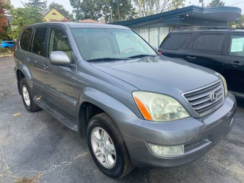 2004 Lexus GX 470 for sale at Clintonville Motors in Columbus OH