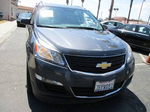 2014 Chevrolet Traverse for sale at F & A Car Sales Inc in Ontario CA