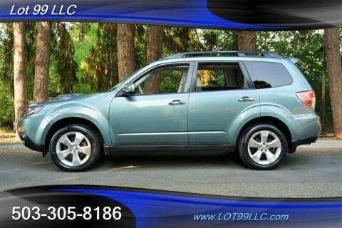 2010 Subaru Forester for sale at LOT 99 LLC in Milwaukie OR