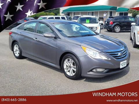 2014 Hyundai Sonata for sale at Windham Motors in Florence SC