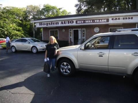 2011 Ford Escape for sale at HOGSTEN AUTO WHOLESALE in Ocala FL