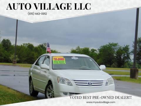 2006 Toyota Avalon for sale at AUTO VILLAGE LLC in Lebanon TN