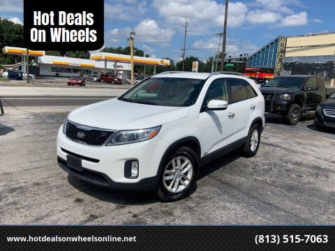 2014 Kia Sorento for sale at Hot Deals On Wheels in Tampa FL
